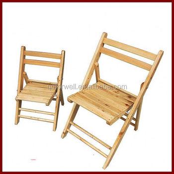 Moderne Blanc Chaise Pliante En Bois Vintage Aluminium Pliage Palms Pelouse Bascule
