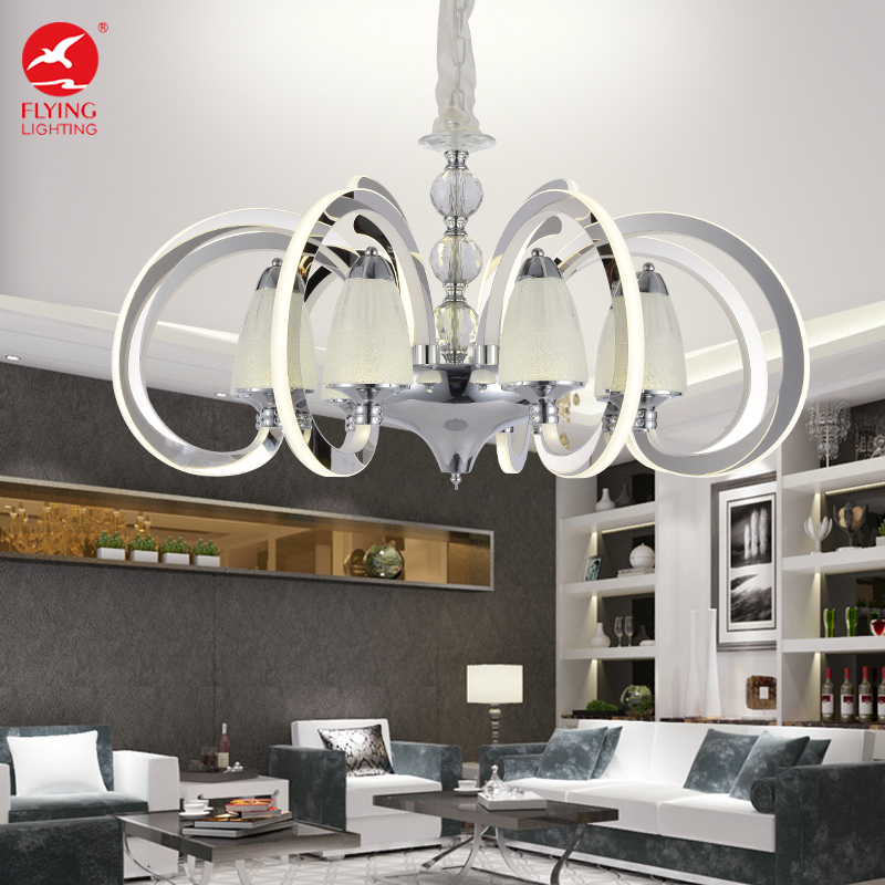 Chandeliers Lights & Lighting Modern Amber Glass Arabia Chandelier Led Light Source Chihuly Style Handmade Blown Glass Chandelier Lighting Online Discount