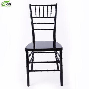 Beech Wood Black Chiavari Tiffany Sillas Wedding Chair