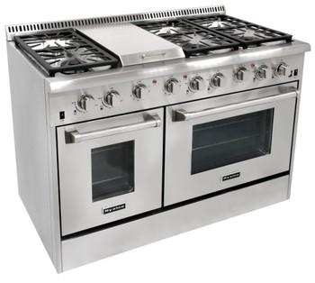 Hyxion 48 6 Burner Ranges Used Gas Stoves For Sale Houston