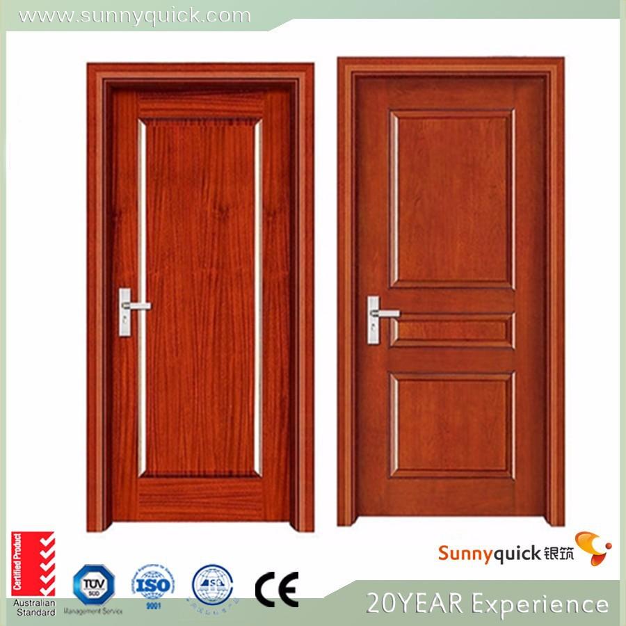 Modernas puertas de madera de teca dise os pintura de - Puertas de aluminio color madera ...