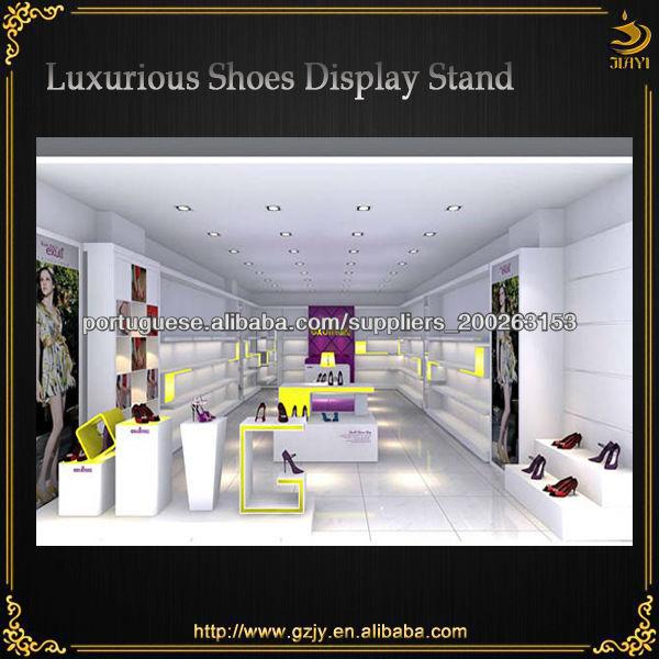 51f6209ba parede mostrar sapato unidade de exibição para calçados femininos loja de  decoração