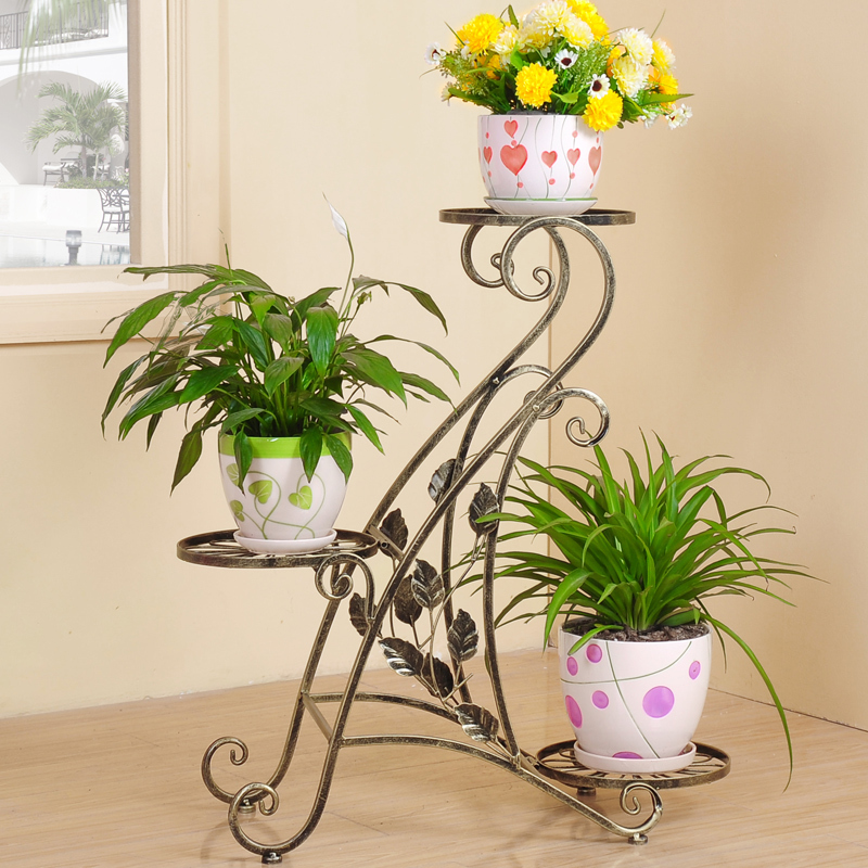 Metal Plant Holder Wrought Iron Plant Stands Flower Holder