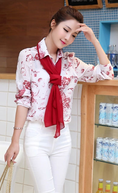Womens Printed Shirts And Blouses