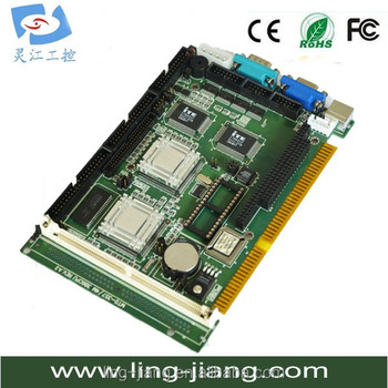 Original IPC ISA Board SBC Industrial motherboard Half-Size CPU Card support pc104 interface