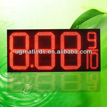 alibaba express hot selling 7-segment led digital display 24 inch outdoor gas price led digital display
