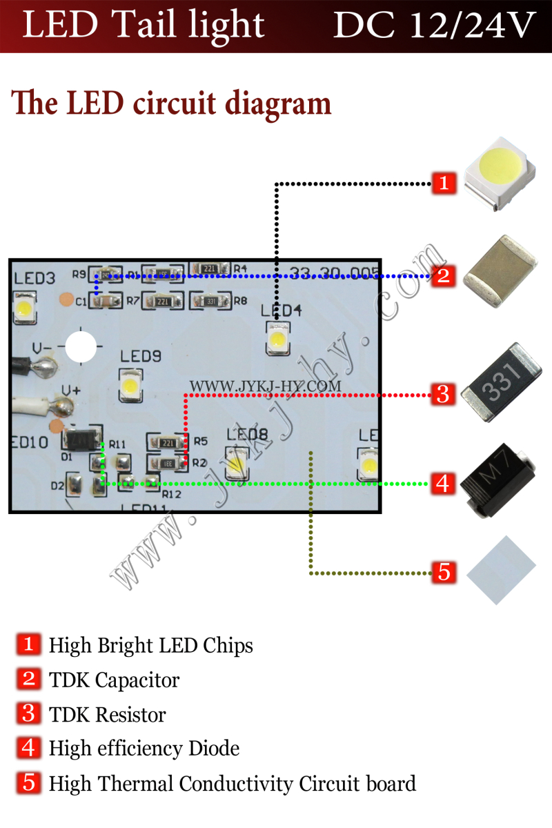 12v Led Stop Light Wiring Diagram Guide And Troubleshooting Of 3 Tail Wire Simple Post Rh 17 Asiagourmet Igb De Toggle Switch Off Road