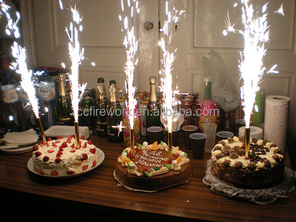 10cm 30cm Sparkling Candle Fireworks For Birthday Bar Party