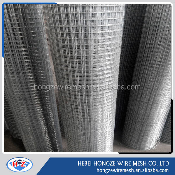 wire netting electro galvanized welded wire mesh