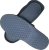 Autoclavable Heat Resistance Rubber Sole for Cleanroom ESD Safety Shoes