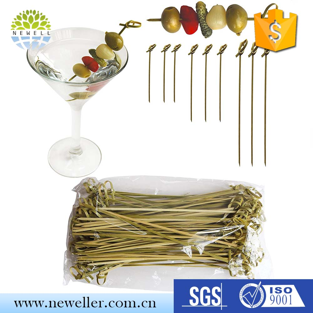 New launched products custom special stylish knot heart skewer with certificates
