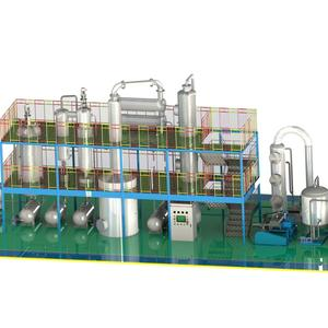 PPGT-LP Automatic Used Car Oil Treatment Plant To Diesel Fuel Oil