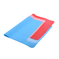 Silicone Square Table Mats Non-Slip Washable Coffee Mats Heat Resistant Kitchen Plane Tablemats Dish Placemats For Dining Room