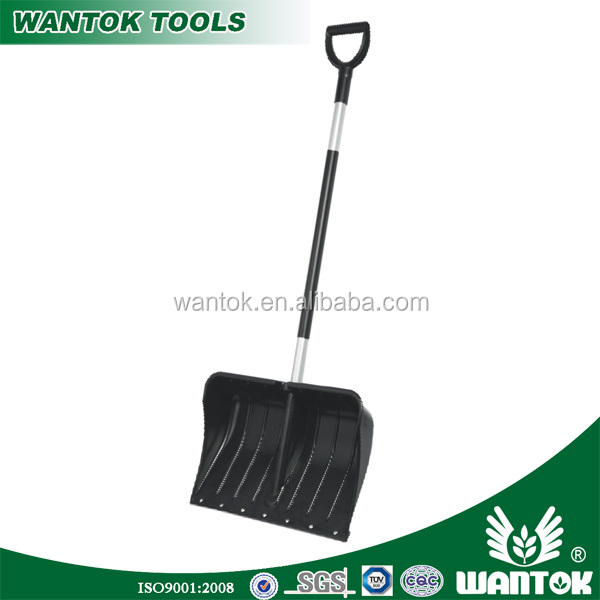 S045PY Assemble blade with handle by screw or snap-lock snow shovel