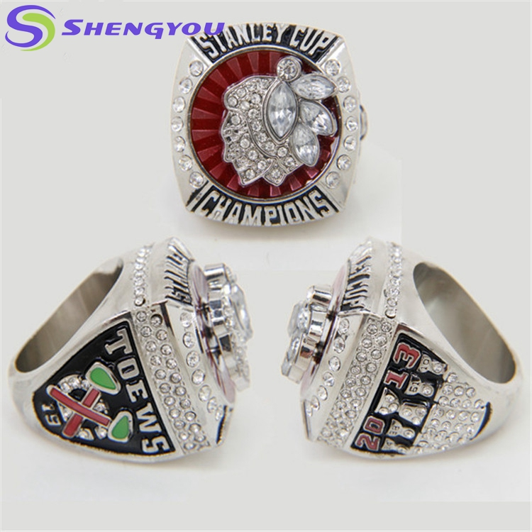 Gorgeous Ring Design 2013 Championship Ring 925 Silver China CZ Rings