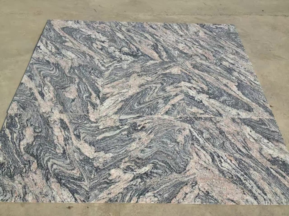 China 2cm thick juparana pink granite floor tiles buy for How thick is granite
