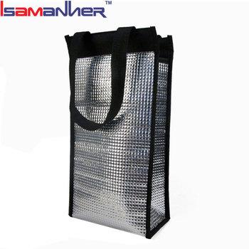 Custom Foil Thermal Disposable Food Bags Factory Ice Cooler Bag
