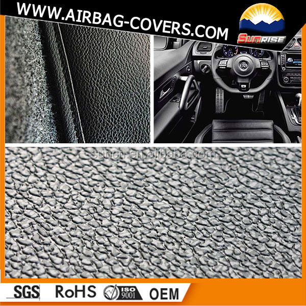 Christmas price reduction 10% Airbag Leather ,dashboard leathers,PVC film for dashboard