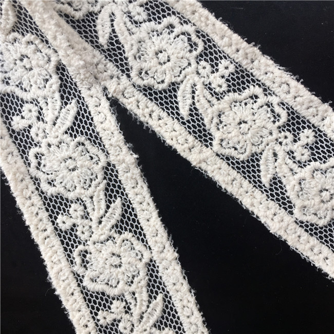 White 8 Yard Stretch Floral Elastic Lace Edge Trim Ribbon 2-1//2 Width Vintage Style White Edging Trimmings Fabric Embroidered Applique Sewing Craft Wedding Bridal Dress Embellishment Underwear DIY