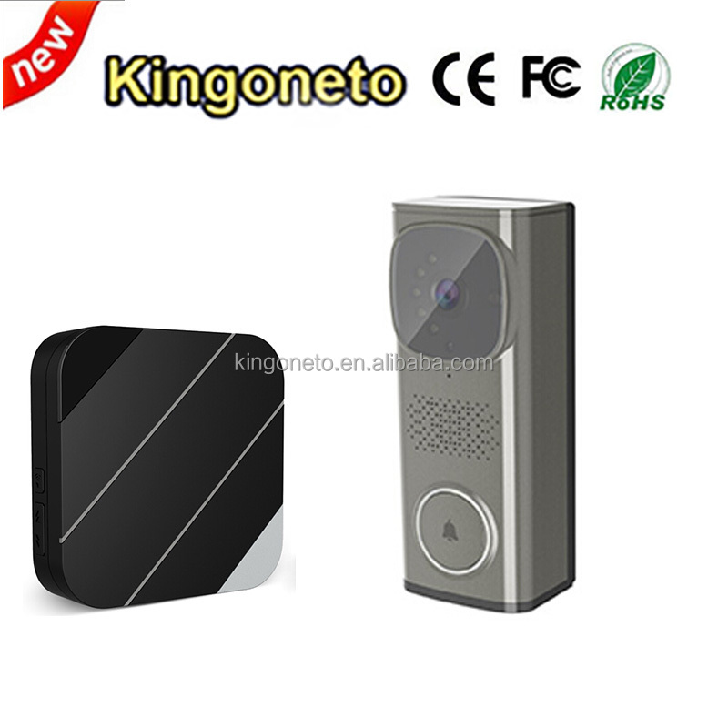 Wireless Video Door Bell Supports Wifi Remote Viewing And Answering China Supplier WIFI Video Doorbell