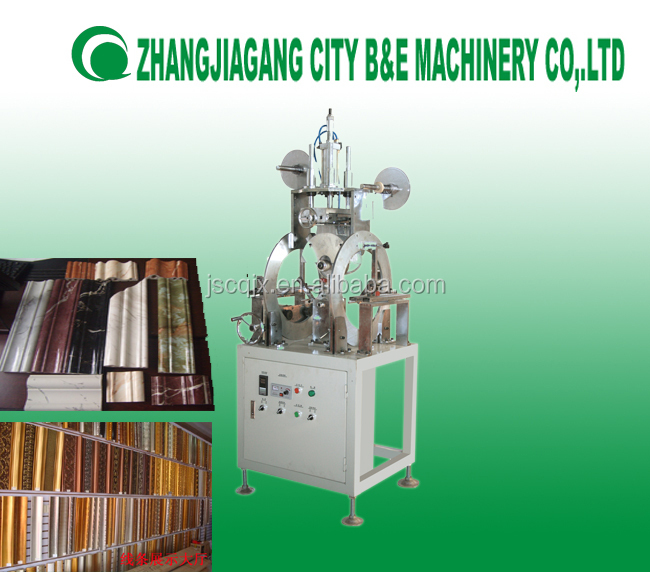 picture framing equipment /frame machine/hot stamping machine for ps moulding