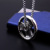 Huasheng jewelry Zeus Sport To Fight Like A Warrior Stainless Steel Wheel Jewellery Pendant Necklaces