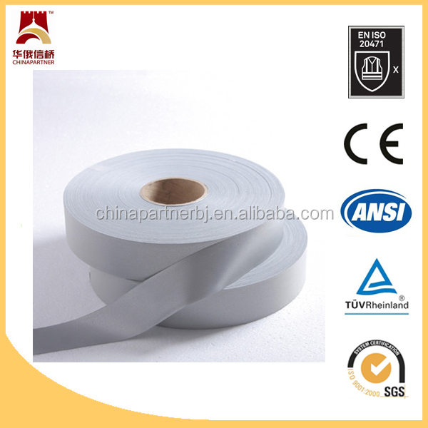 EN471/ANSI 50 cycles industrial washing safety reflective tape
