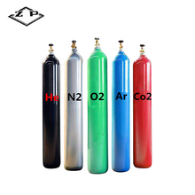 47L 150BAR zuurstof gas cilinder co2 gas cilinder of argon gas cilinder (TPED & ISO9809-1)