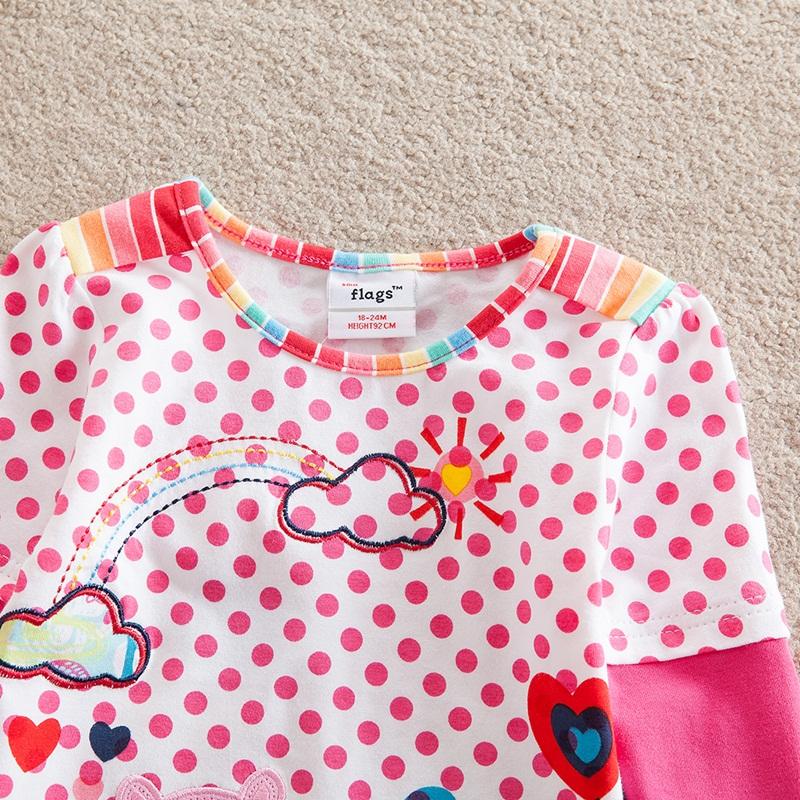 HTB1xBcLfJnJ8KJjSszdq6yxuFXak - Girls Long Sleeve All Year T-Shirt, Long Sleeve, Cotton, Various Designs and Prints