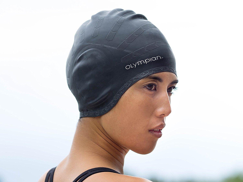 c5d99cdb6e5 Long Hair Swim Cap - Swimming Caps for Women Men Girls Boys- Youth   Adult