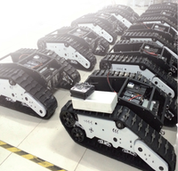 RC robot tracked chassis