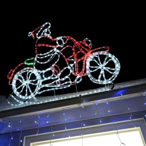 Led Animated Christmas Decoration Rope Light Window