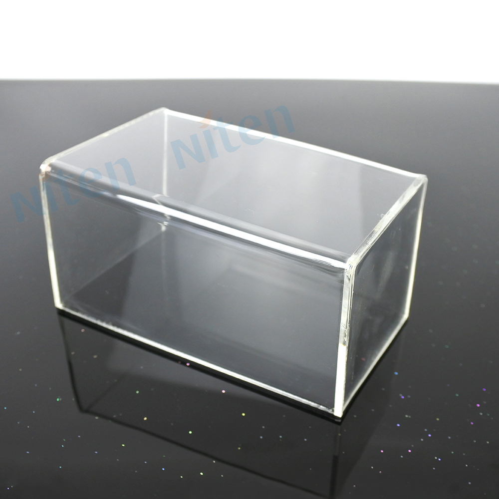 Pequeño Plexiglás Acrílico Caja Rectangular Caja De Acrílico ...