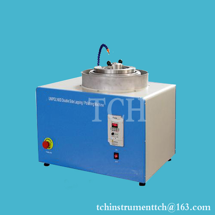 Bench-Top Double Side Lapping Grinding Polishing Machine for Si, Ge and oxide single crystal wafer- EQ-Unipol-160D