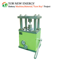 Small Manual Hydraulic Powder Press Machine For Button Cell Making