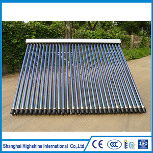 China cheap Evacuated Tube solar collector price Pressurized Heat Pipe Solar Thermal Collector