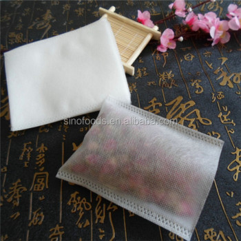 7*9 cm packing for loose tea or coffee bean heat sealing non-woven bags