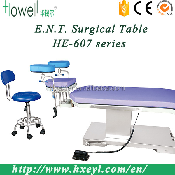 Hospital Medical Devices Ophthalmic Operating Table / Eye Operating Table