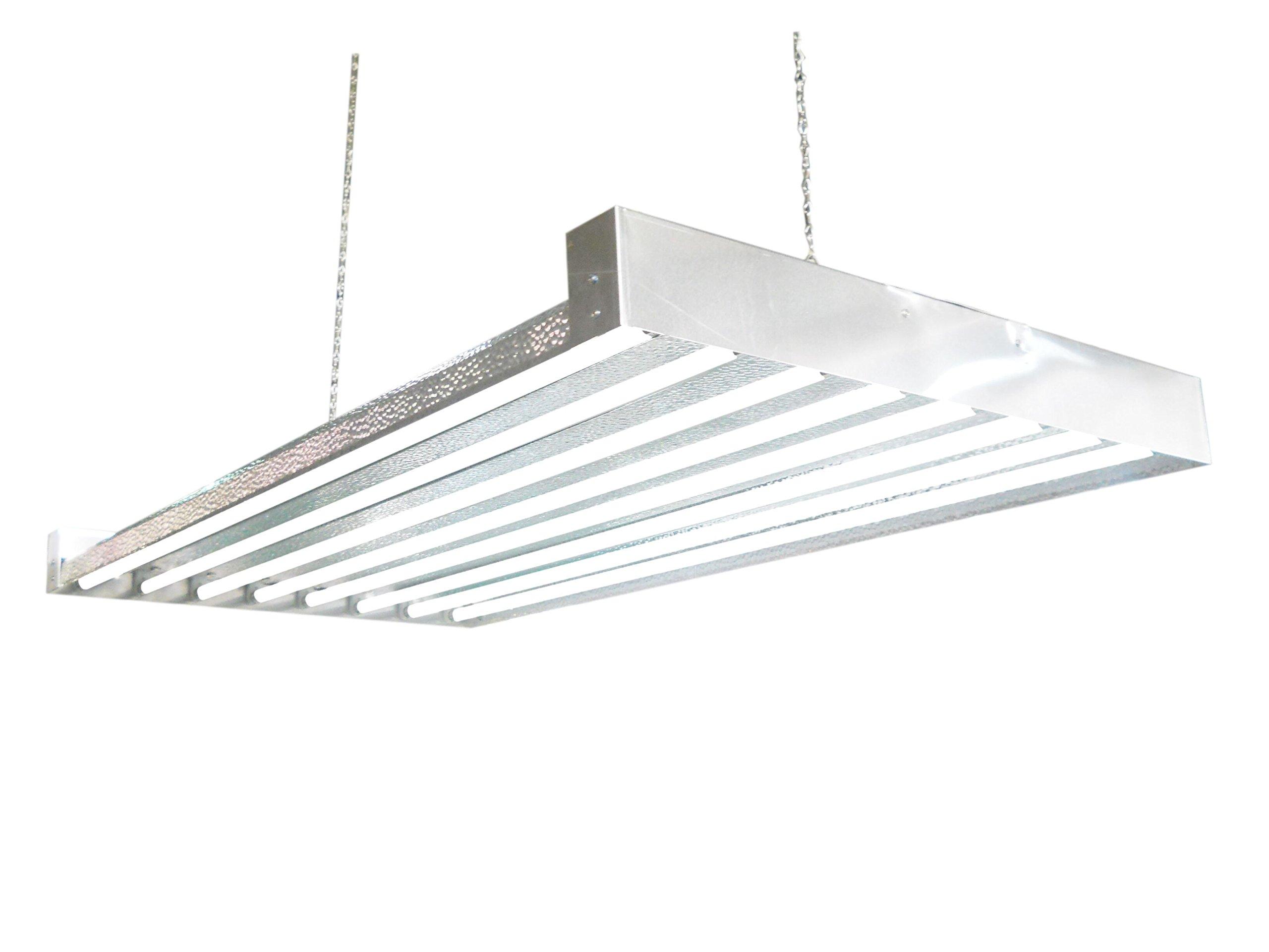Buy T5 HO Grow Light - 4 FT 8 Lamps - DL8408 Fluorescent Hydroponic ...