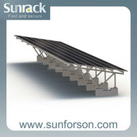 Special design carport solar mounting system
