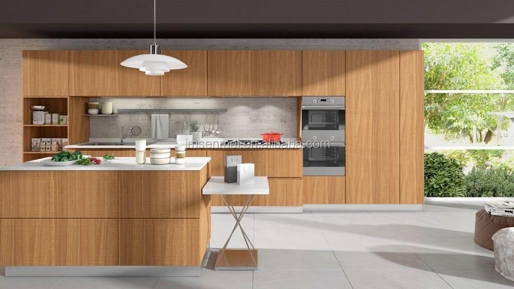 2016 Neoclassic Hout gefineerd Keuken deur voor Kabinet keuken ...
