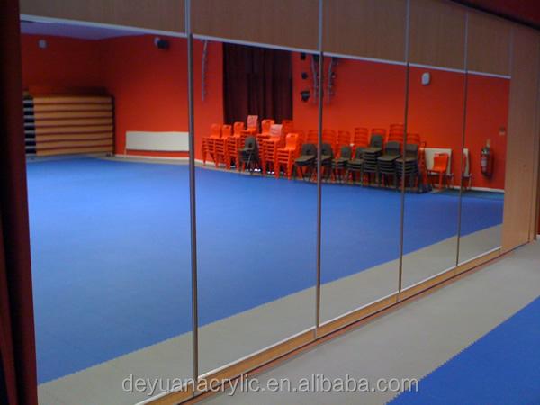 Acrylic Wall Mirror silver acrylic dance mirrors/large wall mirrors acrylic mirror