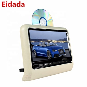Hot Sale Automobile Muliti Fucitonla 9 inch TFT-LCD Monitor Headrest Dvd Monitor Player for Car