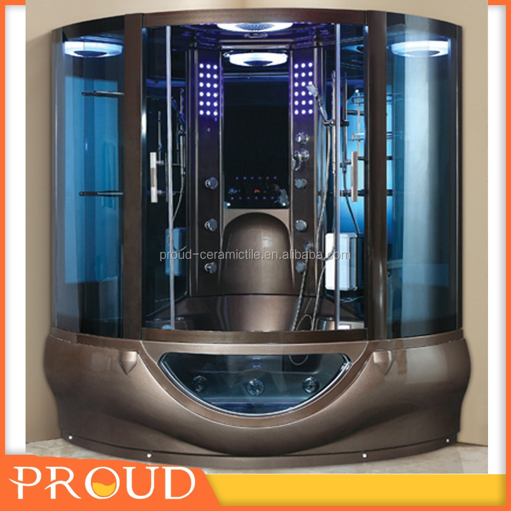 Hi-Fi System Golden surface super luxrious Steam Room for massaging and relaxing