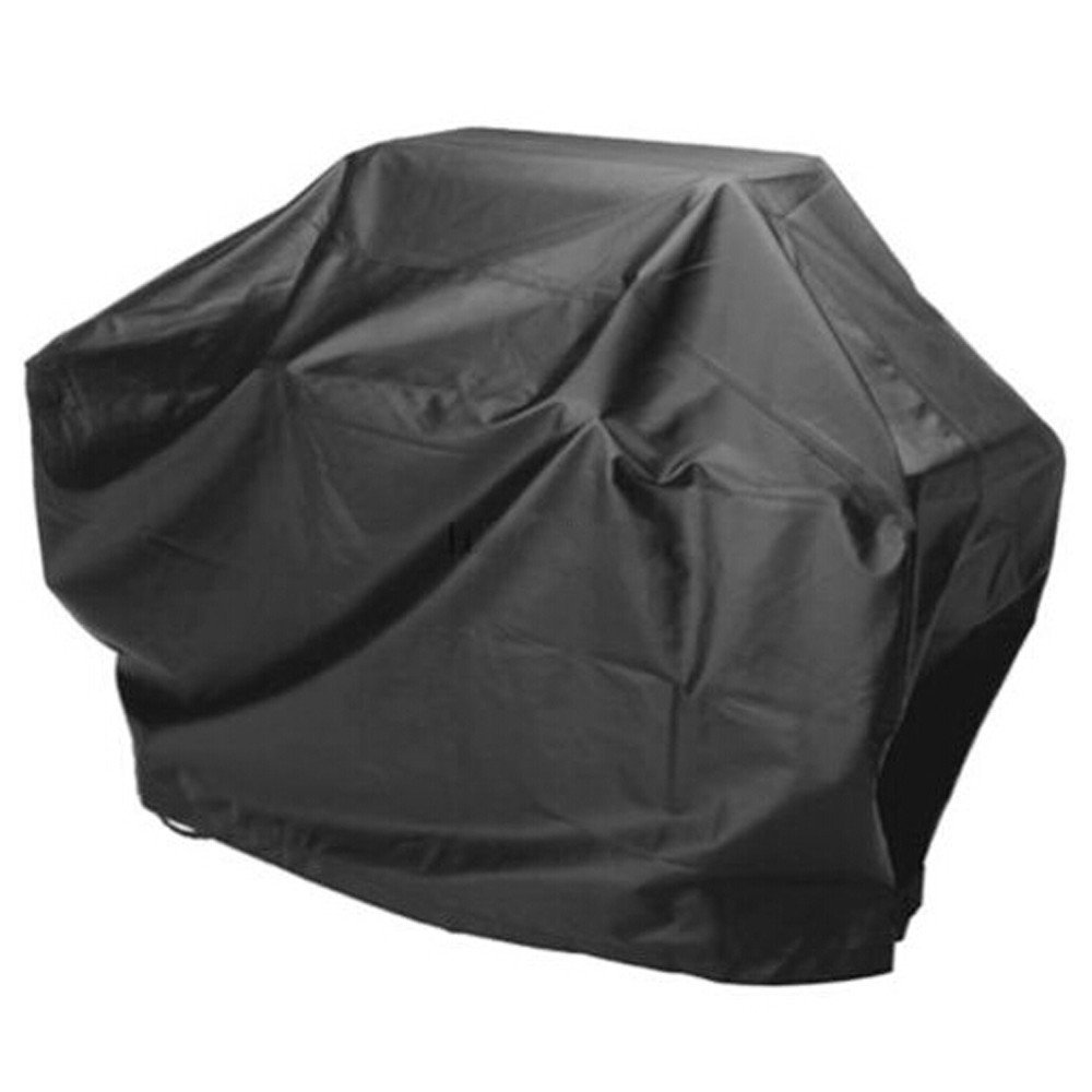 "Cheerwing® BBQ Cover 57"" Waterproof Barbecue Grill Gas Cover Protection Patio Outdoor Protector, Black"