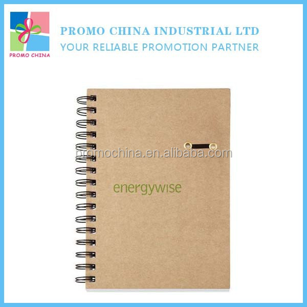 Logo Printed OEM Spiral Office Notebook Stationery School Notebook