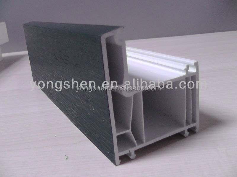 Plastic extrusion companies custom PVC/UPVC profile profiles for windows and doors