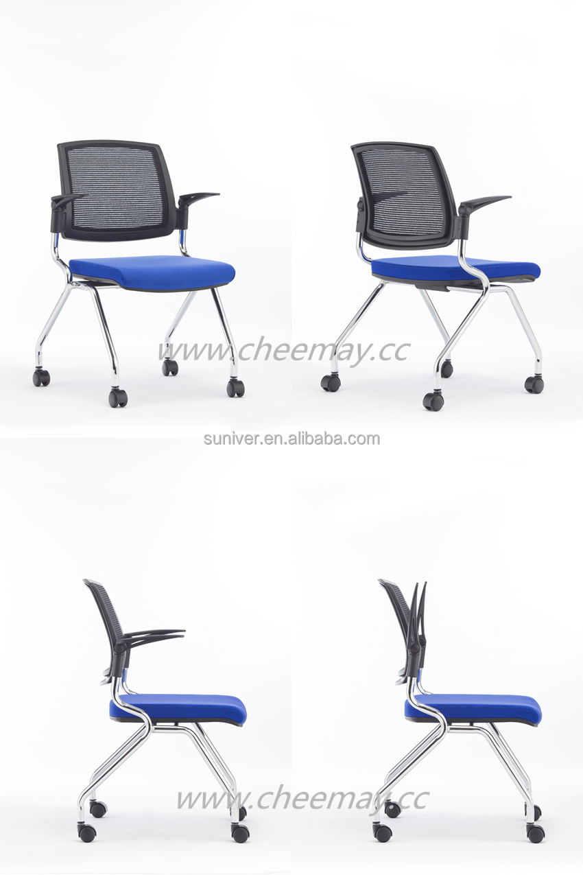 conference room chairs with casters. Stackable Training Chair With Wheels Visitor Conference Castors Room Chairs Casters J