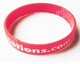 OEM Supplier Sporty Popular Silicone Wristband, Laser Engraved Band