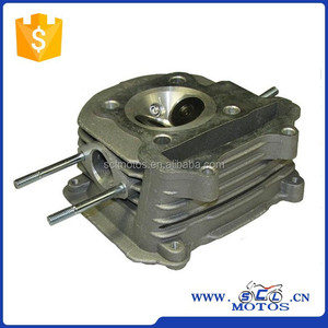 SCL-2014120002 Chinese Motorcycle GY6-125 Engine Parts Cylinder Head Complete